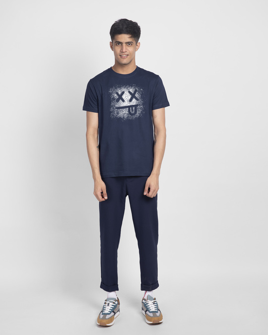 Shop Xx Smiley Half Sleeve T-Shirt-Design