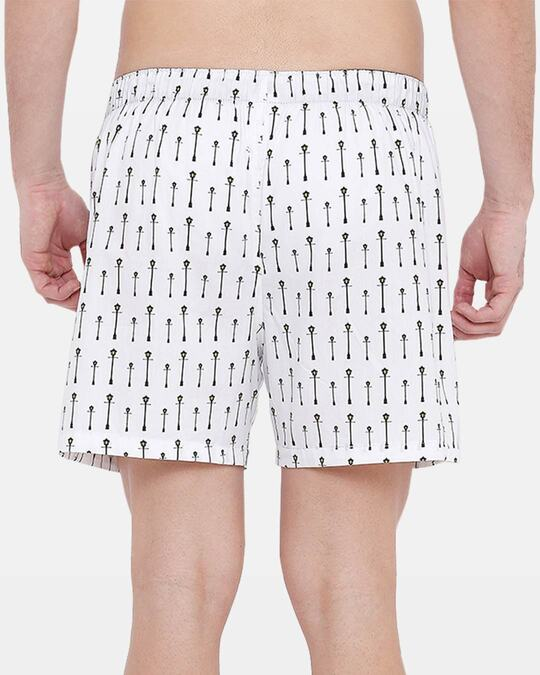 Shop XYXX Men's Printed Boxer Street Lamp-Design