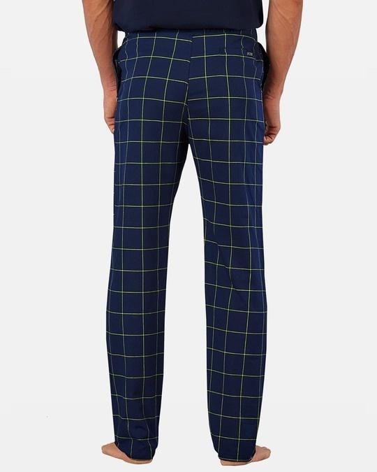 Shop XYXX Super Combed Cotton Checkered Pyjama for Men-Full