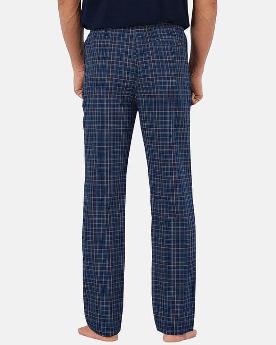 Shop XYXX Super Combed Cotton Checkered Pyjama for Men