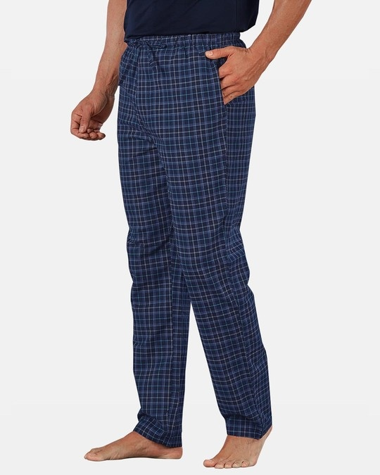 Shop XYXX Super Combed Cotton Checkered Pyjama for Men (Pack of 2)-Full