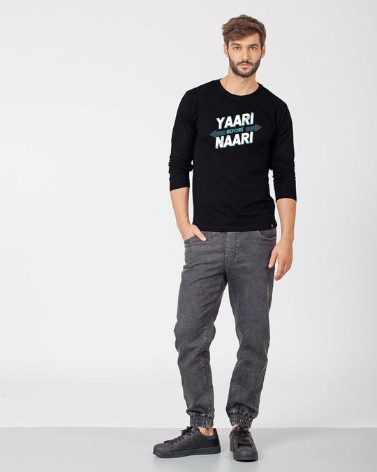 Shop Yaari Full Sleeve T-Shirt-Full
