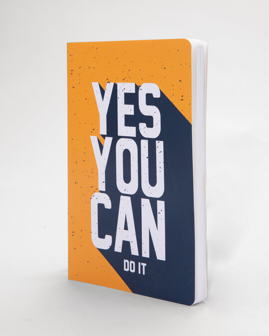 Shop Yes You Can Notebook-Back