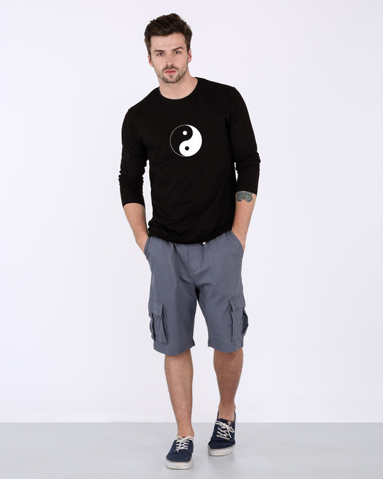 Shop Yin Yang Full Sleeve T-Shirt-Design