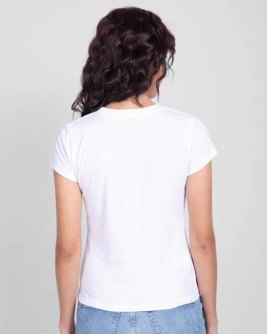 Shop Yoda- Judge me by my side Half Sleeve Printed T-shirt-Back