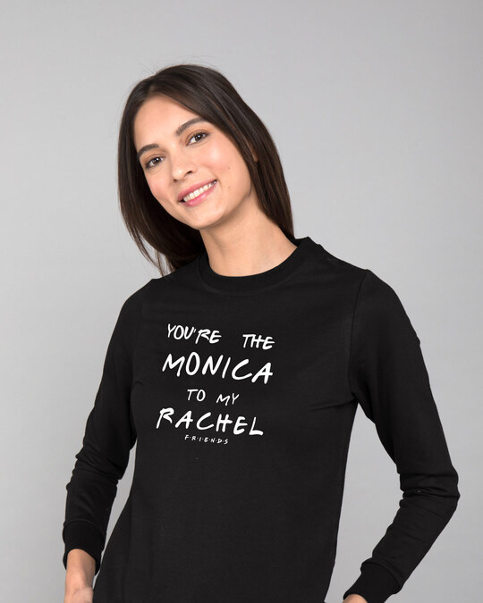 Shop You're The Monica Fleece Light Sweatshirt (FRL)-Front