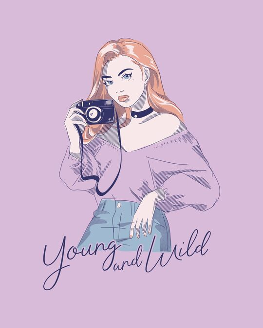Shop Young And Wild Boyfriend T-Shirt