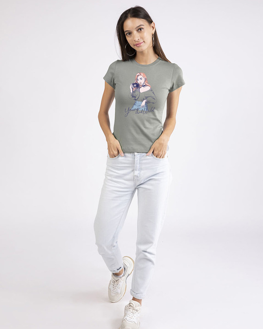Shop Young And Wild Half Sleeve T-Shirt-Design