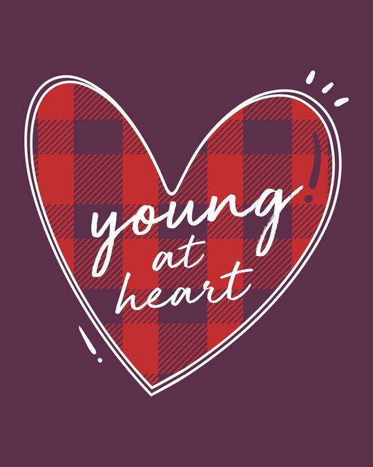 Shop Young At Heart Half Sleeve T-Shirt-Full
