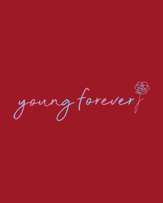 Shop Young Forever Army Boyfriend T-Shirt