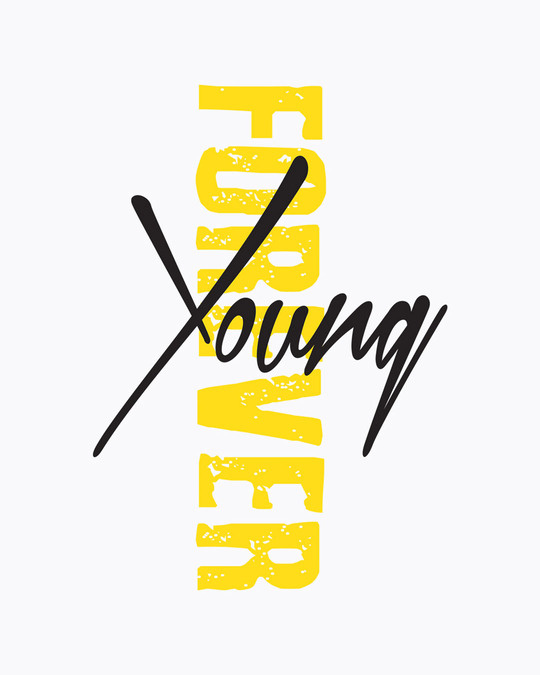 Shop Young forever Side Full Sleeve Raglan T-Shirt