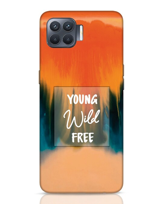 Shop Young Splash Oppo F17 Pro Mobile Cover-Front