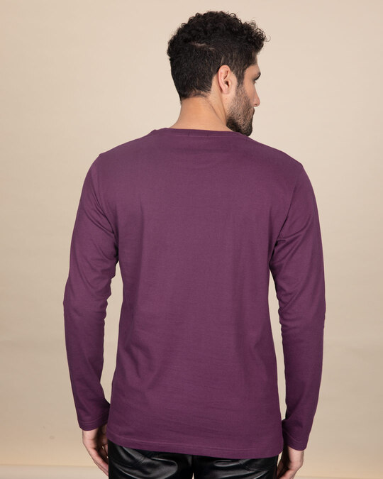 Shop Your Fear Full Sleeve T-Shirt-Back