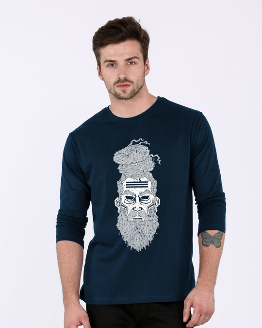 Shop Zen Full Sleeve T-Shirt-Front