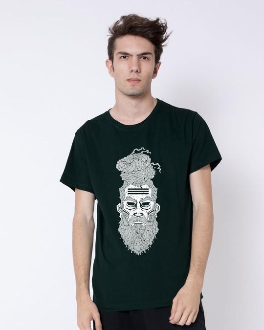 Shop Zen Half Sleeve T-Shirt-Back