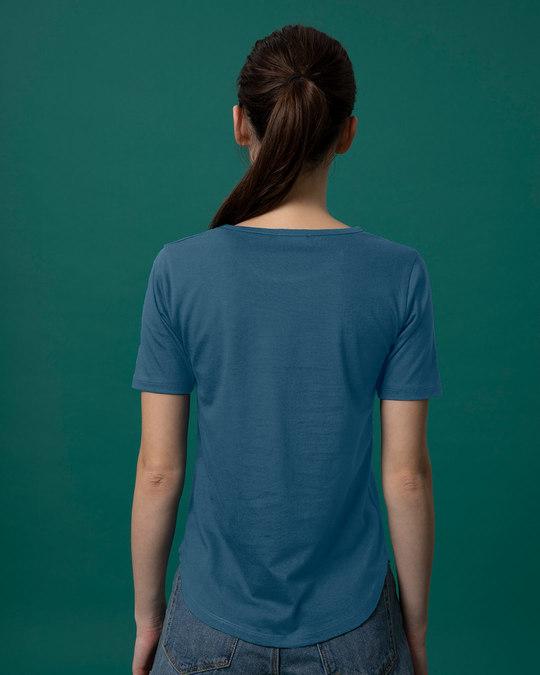 Shop Zero Fox Basic Round Hem T-Shirt-Full