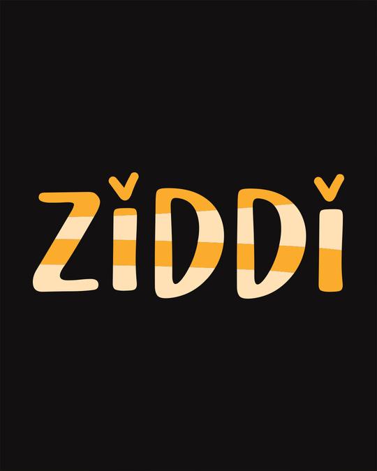 Shop Ziddi Scoop Neck Full Sleeve T-Shirt-Full