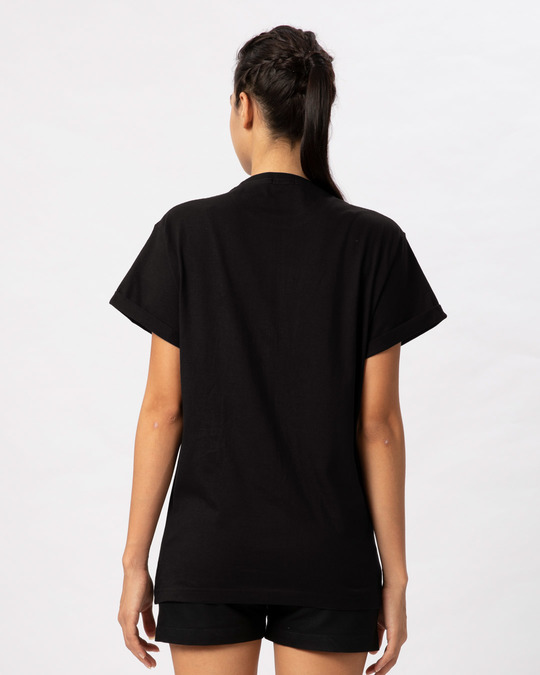 Shop Zindagi Badi Honi Chahiye Boyfriend T-Shirt-Design