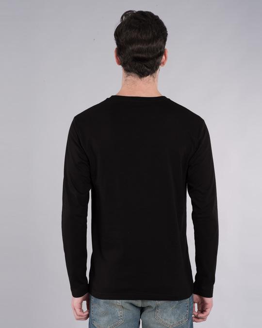 Shop Zindagi Badi Honi Chahiye Full Sleeve T-Shirt-Back