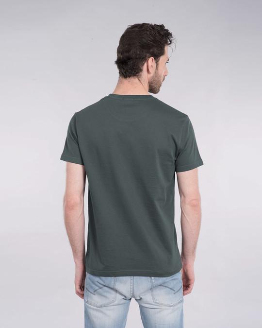 Shop Zindagi Badi Honi Chahiye Half Sleeve T-Shirt-Back