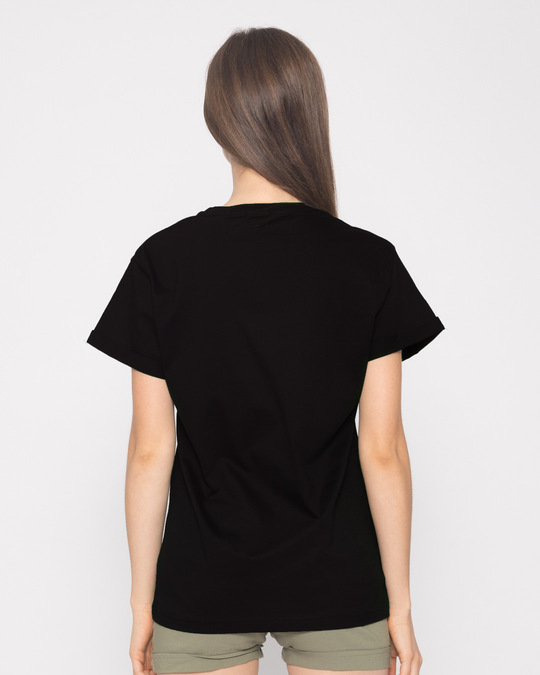 Shop Zip It Boyfriend T-Shirt-Back