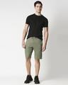 Shop Alpha Green Men's Casual Shorts