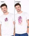 Shop Avengers Circle Sun Active T-Shirt (AVL)-Full