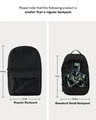 Shop Black Panther Throne Printed Small Backpacks-Full