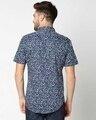 Shop AOP Satin Print Half Sleeve Shirt-Full