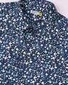 Shop AOP Satin Print Half Sleeve Shirt