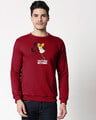 Shop Busy Doin Nothing Fleece Sweater-Front