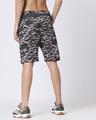 Shop Catalytic Black Camo Fleece Short-Full