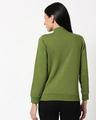 Shop Cedar Green AOP Zipper Bomber Jacket-Full