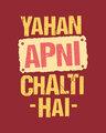 Shop Chalti Hai Full Sleeve T-Shirt-Full