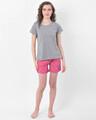 Shop Print Me Pretty Boxer Shorts In Pink  Cotton Rich-Full