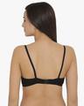 Shop Non Padded Non Wired Full Coverage Bra In Black   Cotton Rich-Design
