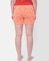 Shop Print Me Pretty Boxer Shorts In Orange  Cotton Rich-Design