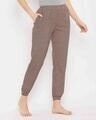 Shop Print Me Pretty Pyjama In Brown-Design