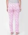 Shop Print Me Pretty Pyjama In Light Pink  Cotton Rich-Design