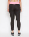 Shop Snug Fit Active Ankle Length Tights In Black-Design