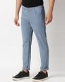 Shop Dusty Blue Twill Chino-Design