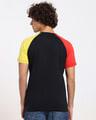 Shop Fav Colors Contrast Sleeve Raglan T-Shirt-Design