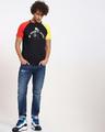 Shop Fav Colors Contrast Sleeve Raglan T-Shirt-Full