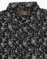 Shop Men's Black Slim Fit Casual Print Shirt