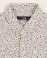 Shop Men's Khakhi Slim Fit Casual Print Shirt