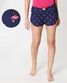 Shop Flamingo Women's Boxers-Front