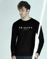 Shop Friends Air Date Full Sleeve T-shirt (FRL)-Front