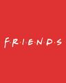 Shop Friends logo Round Neck Vest (FRL) Round Neck Vest-Full