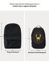 Shop Golden Helmet Printed Small Backpacks-Full