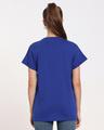 Shop Hashtag Blue Boyfriend T-Shirt-Design